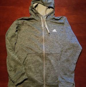 Adidas Olive Green Hoodie